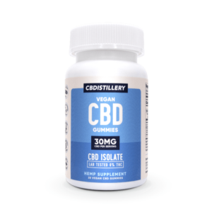 CBDistillery CBD Gummies – 30mg – 25 Count – New & Improved!