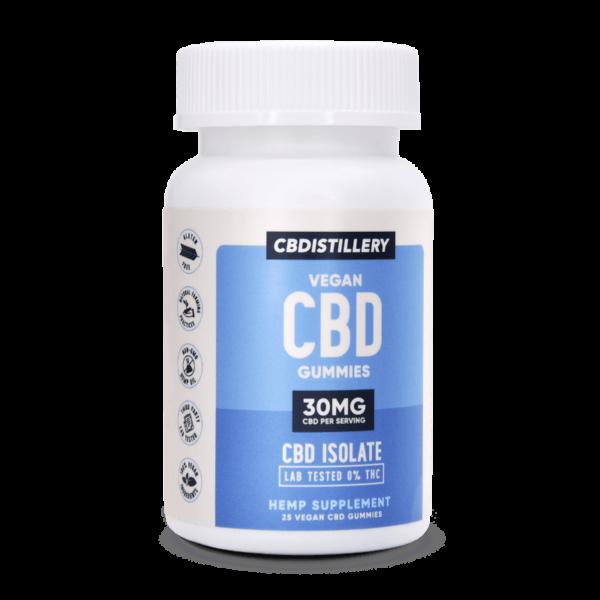 CBDistillery CBD Gummies – 30mg – 25 Count – New & Improved!